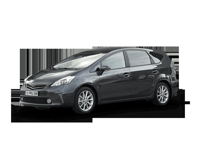 3x Toyota Prius +